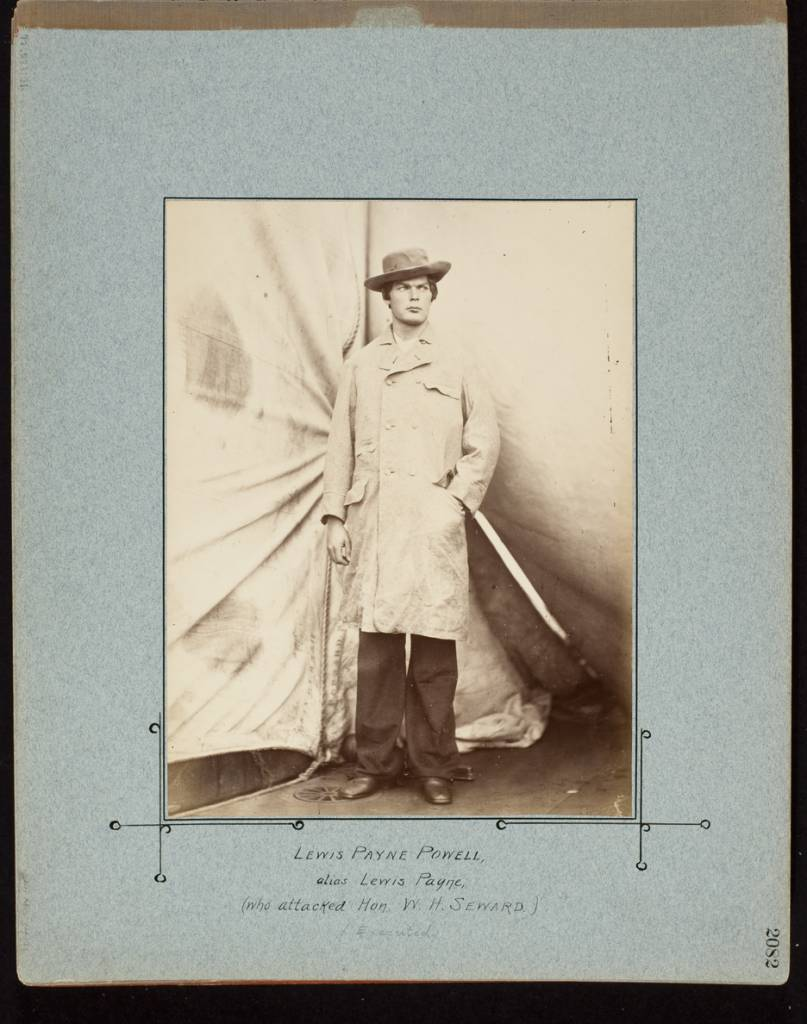 Lewis Payne Powell, alias Lewis Payne, Who Attacked Hon. W.H. Seward