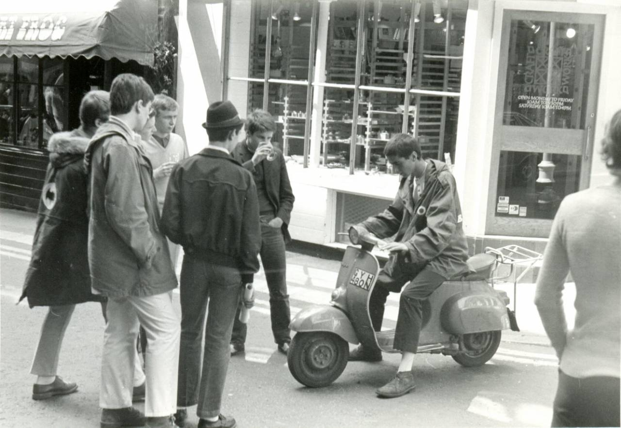 Mods in London 1979 by Paul Wright