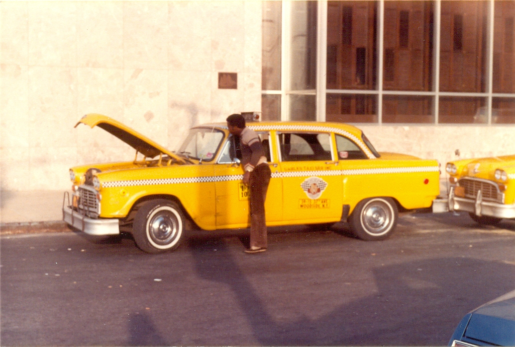 Yellow Cab driver, New York City, November 1982.