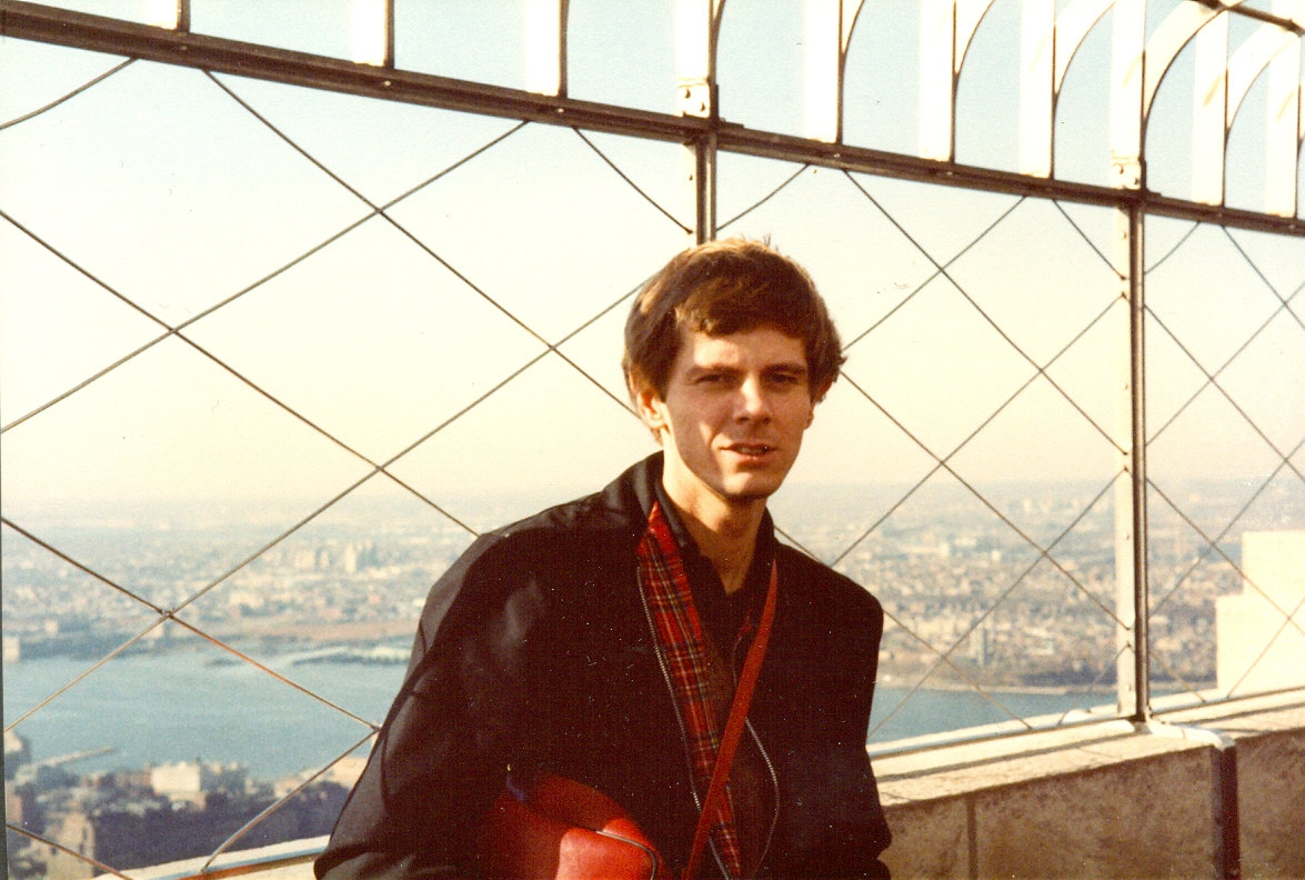 A photograph of me at the Empire State Building, New York City, November 1983.   Empire State Building 350 5th Ave New York NY 10001