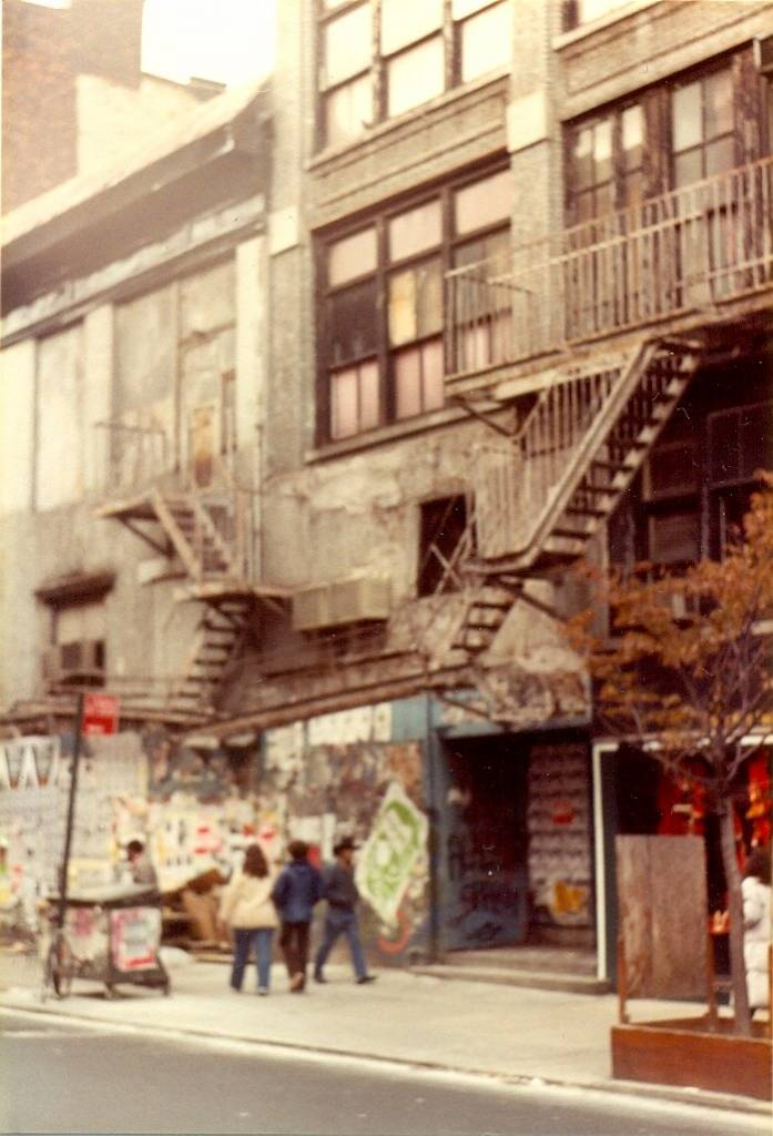 Large parts of New York City looked semi-derelict back in 1982. This a typical street scene but I can't remember where I took this photo. Please let me know if you recognise this street.