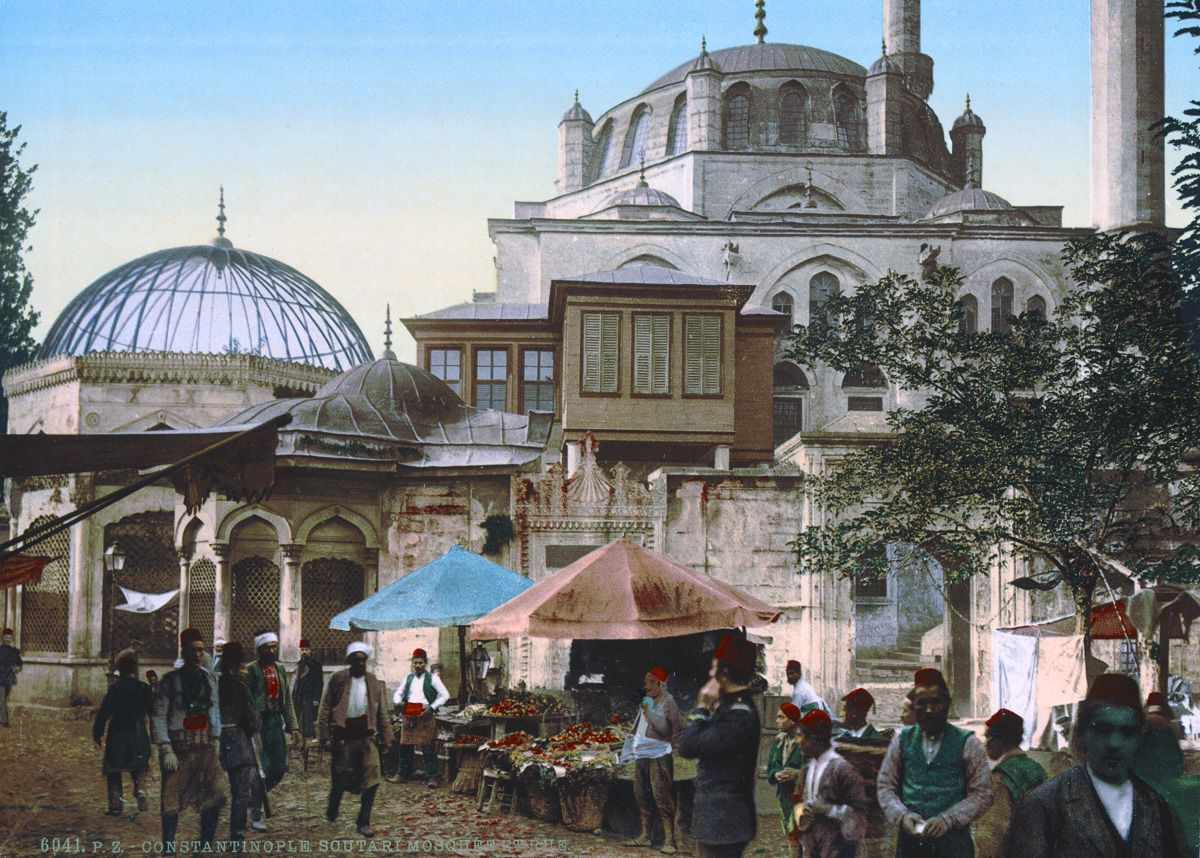 Photochroms of Istanbul 1890