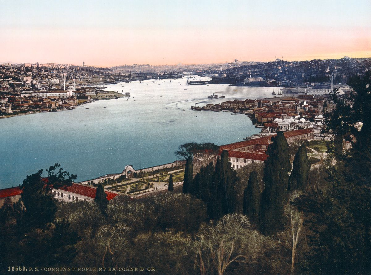 Photochroms of Istanbul