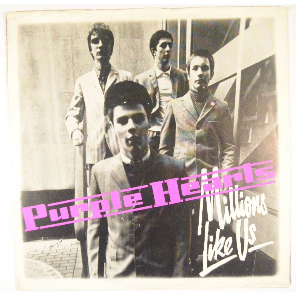 The cover of Purple Hearts' Millions Like Us