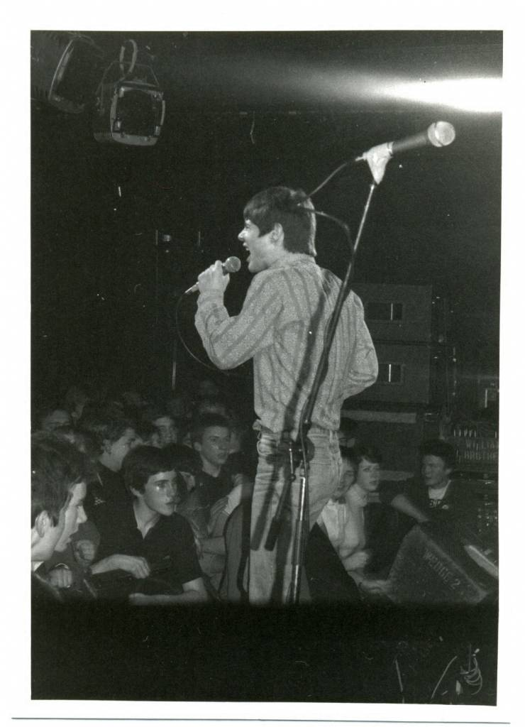 Purple Hearts at the Marquee Club, London 1980