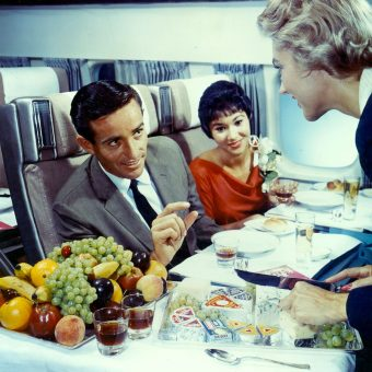 A Veritable Smorgasbord of Vintage Scandinavian Airline Meals
