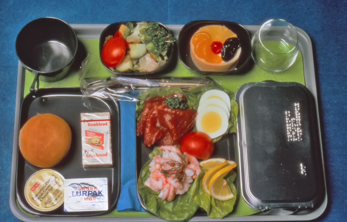 Scandinavian Airlines 1975 readymeal
