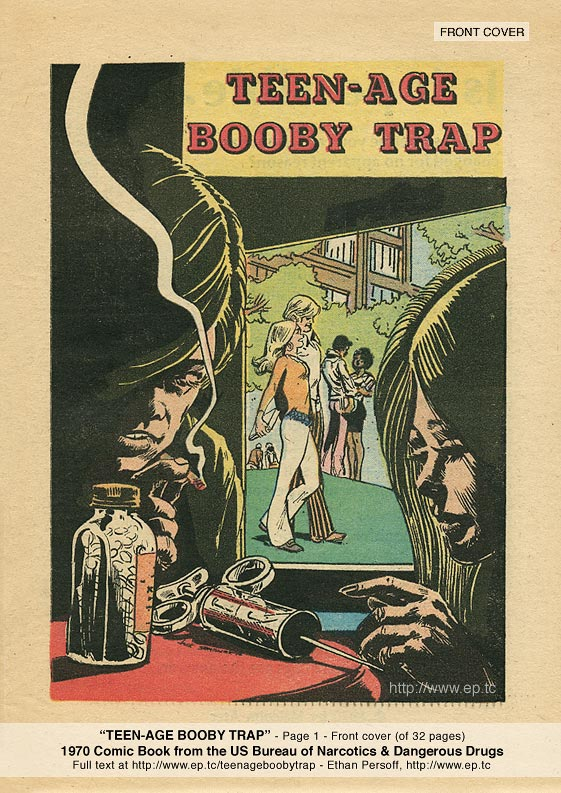 Teenage Booby Trap comic