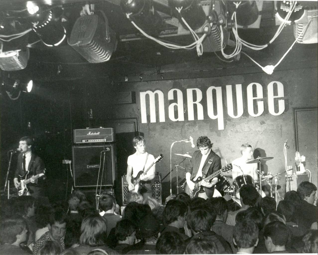 The Chords - Marquee Club London, 1979 - Soho © photo by Paul Wright