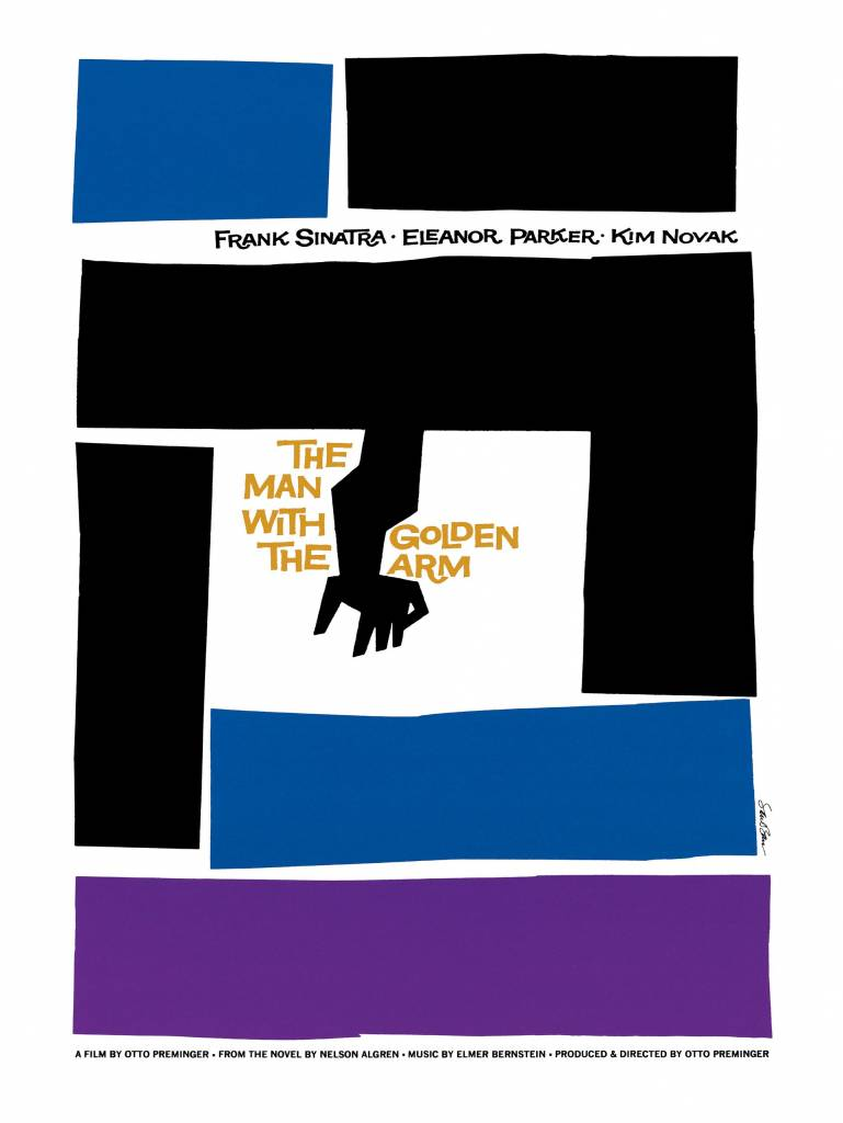 Saul Bass The Man with the Golden Arm, 1955