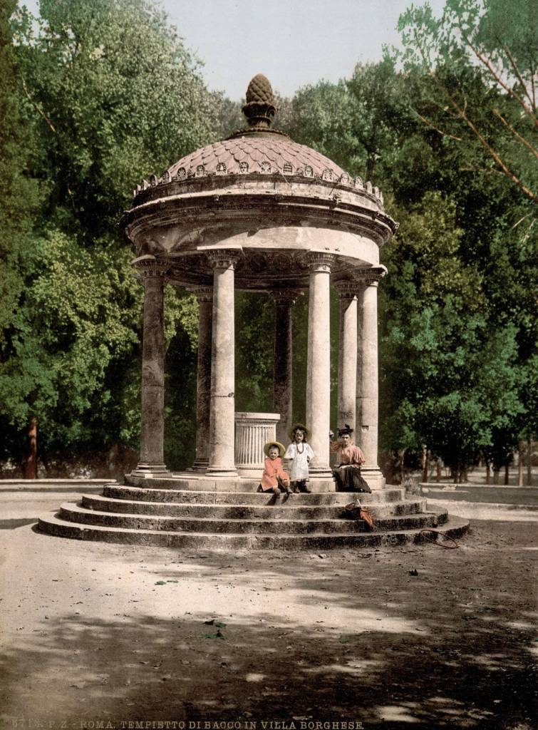 The Temple of Bosco rome autochrome