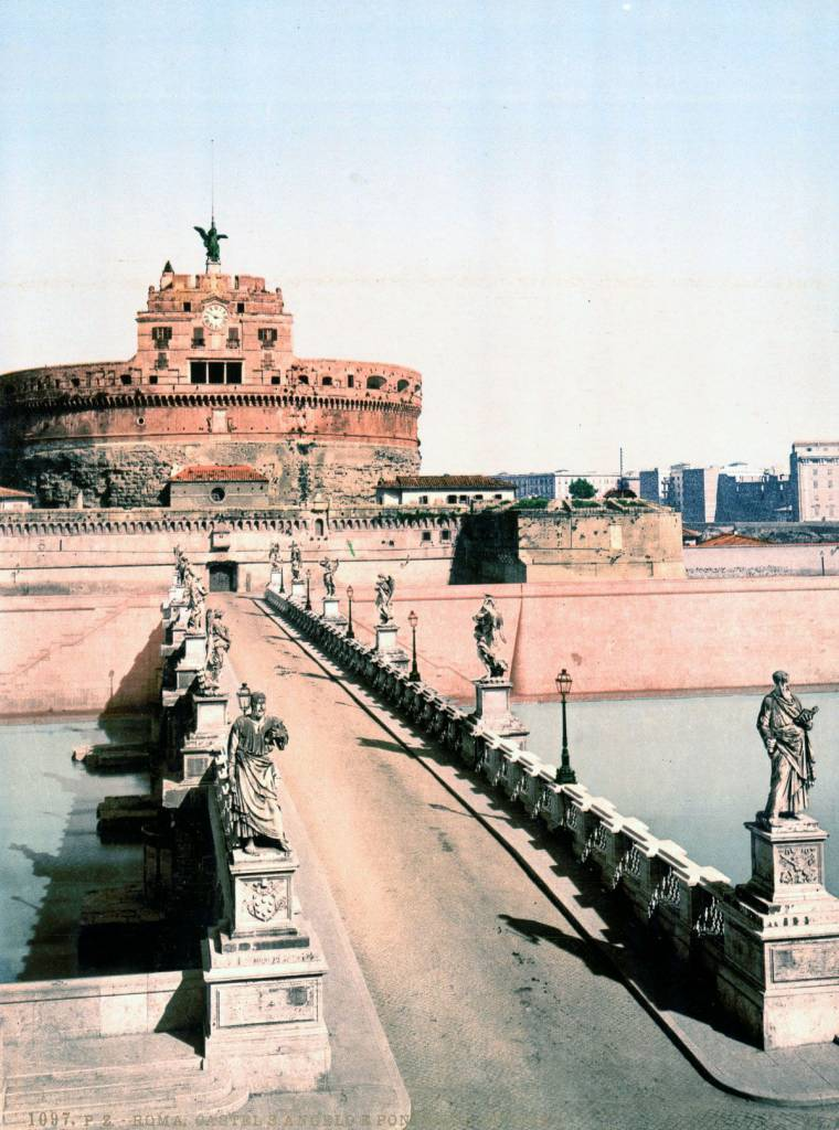 The bridge and castle of St. Angelo