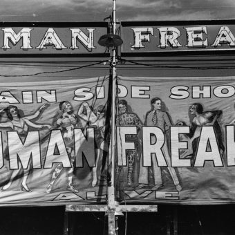 Photos of Vermont's Rutland Fair Freak Show in 1941