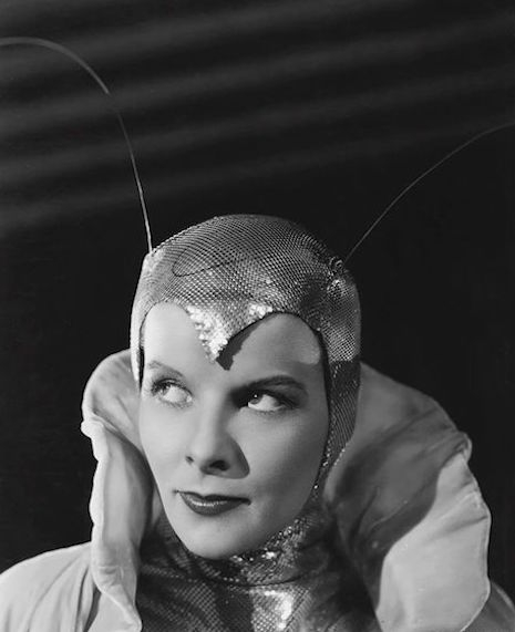 katharine hepburn 1933 Christopher Strong moth insect costume sexy