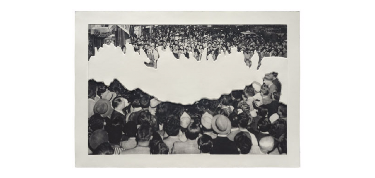 Crowds with Shape of Reason Missing: Example 2, 2012 Jim Kempner Fine Art