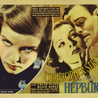 Katharine Hepburn Became A Sexy Silver Moth For Christopher Strong (1933)