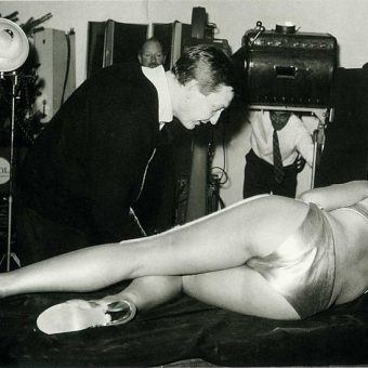 Goldfinger: Pin-Up Model Margaret Nolan's Uncensored Film Sequence Photos