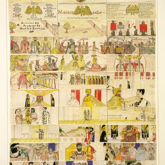 An 11-Year-Old Martin Scorsese Draws Storyboards For The Eternal City (1953) And Silence