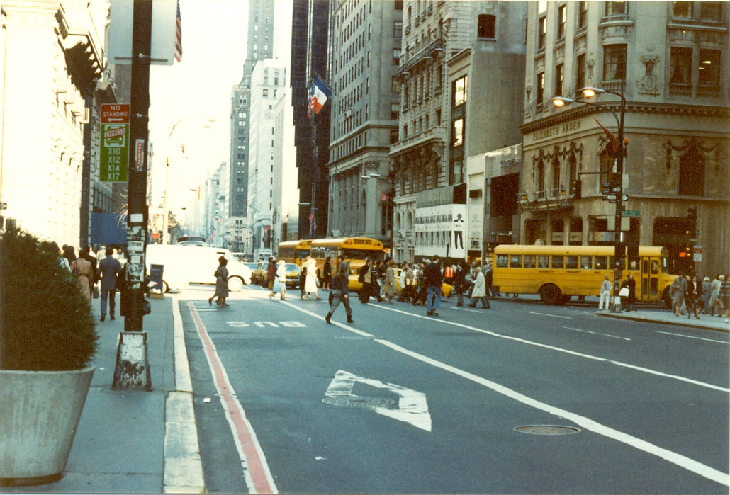 New York City, November 1983.