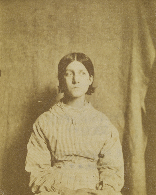 Portrait of a patient from Surrey County Asylum, no. 6