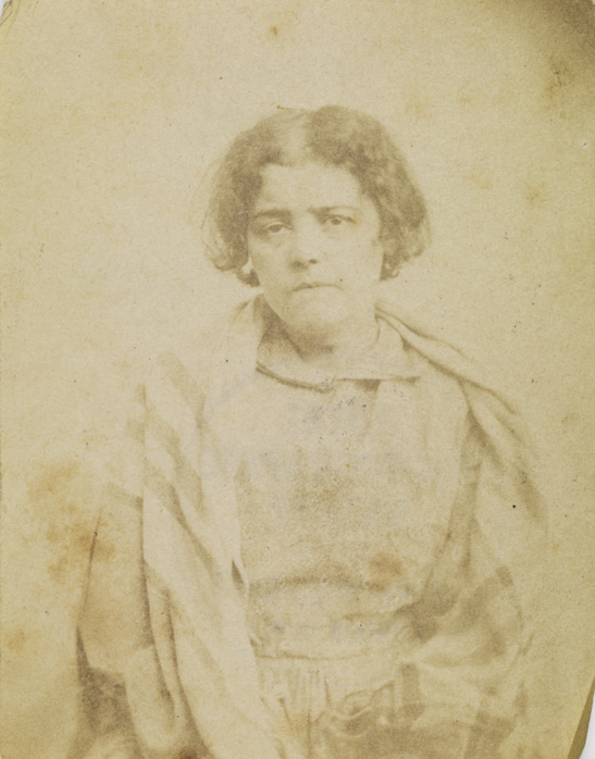 Portrait of a patient from Surrey County Asylum, no. 10
