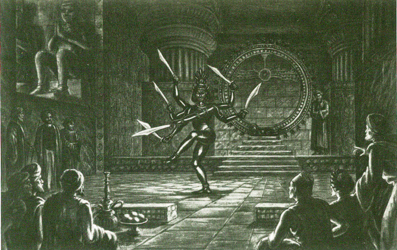 harryhausen ray art drawings