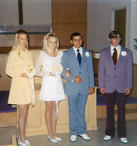 found photos wedding 1960s