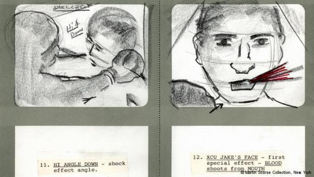 scorsese storyboard raging bull