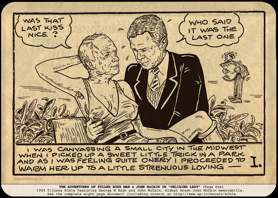 tijuana bible george bush
