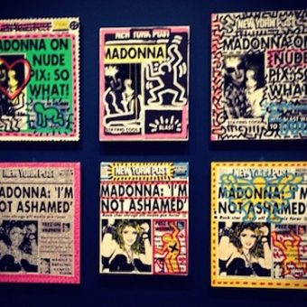 So What! Keith Haring And Andy Warhol's Tribute to Madonna's Nude Pix
