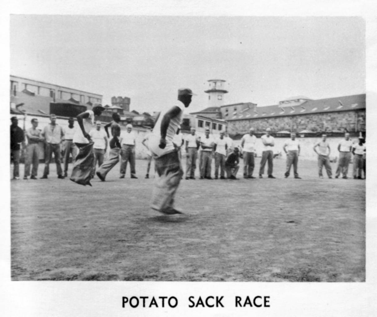 "Eastern Echo, Winter 1964, ""July 4th Field Events."" Collection of Eastern State Penitentiary Historic Site, gift of the William F. Derau Family."