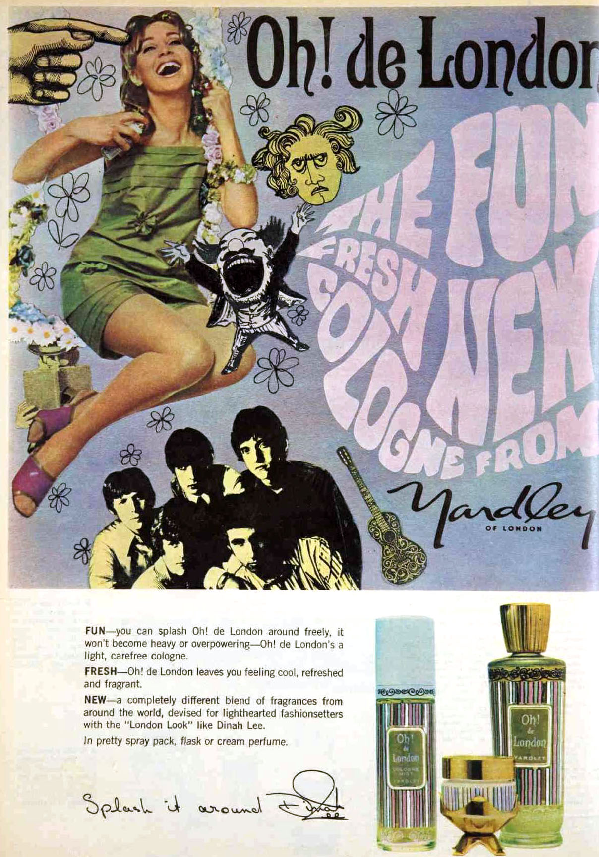 1968 Yardley perfume