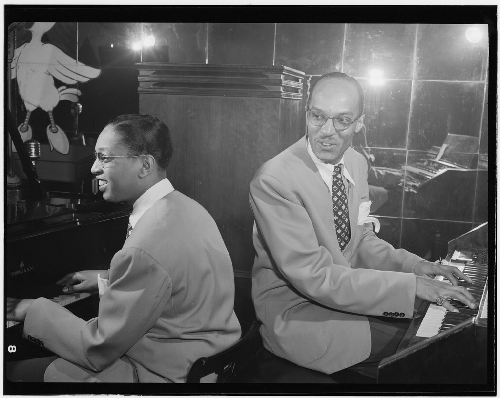 Portrait of Billy Taylor and Bob Wyatt, New York, N.Y., between 1946 and 1948
