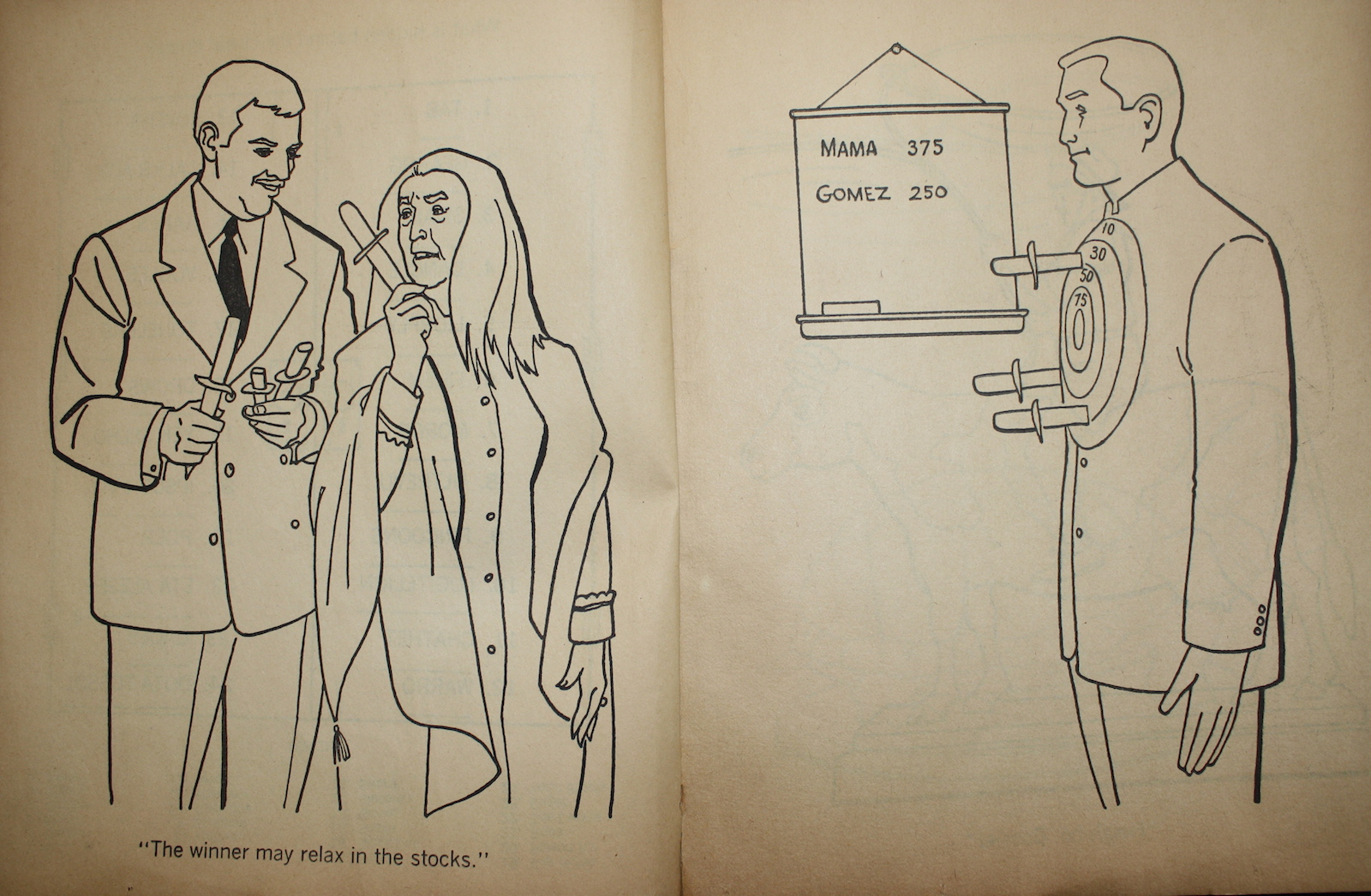 The Addams Family - A Coloring Book (1965)