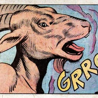 HRROOGA! And Other Vintage Comic Book Monster Sounds