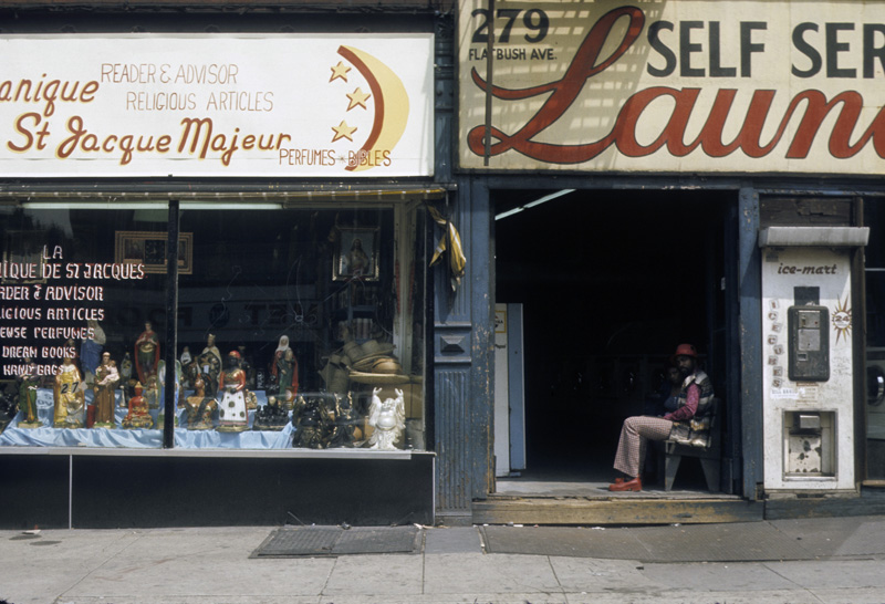 Brooklyn store front shops 1971 1970s