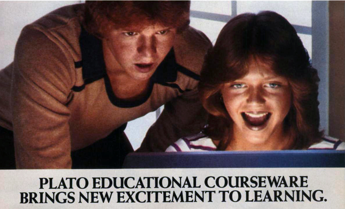 PLATO educational software (1983)