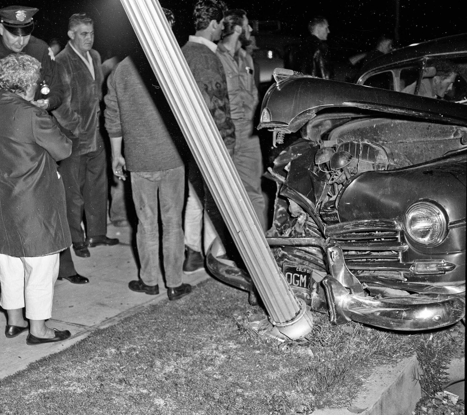 Old Auto Accidents In Fresno (1960