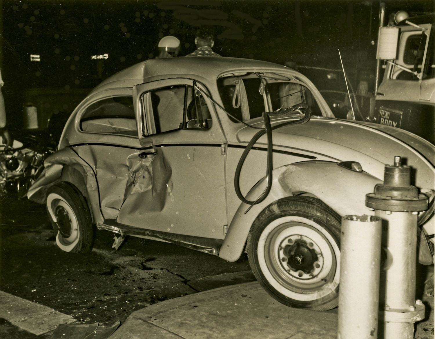 Old Auto Accidents in Fresno (1960 - 1966) - Flashbak
