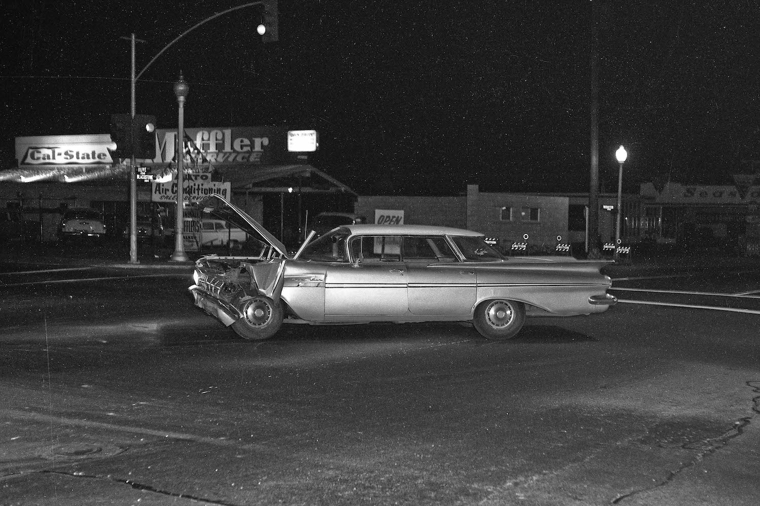 Ford Of Ventura >> Old Auto Accidents in Fresno (1960 - 1966) - Flashbak