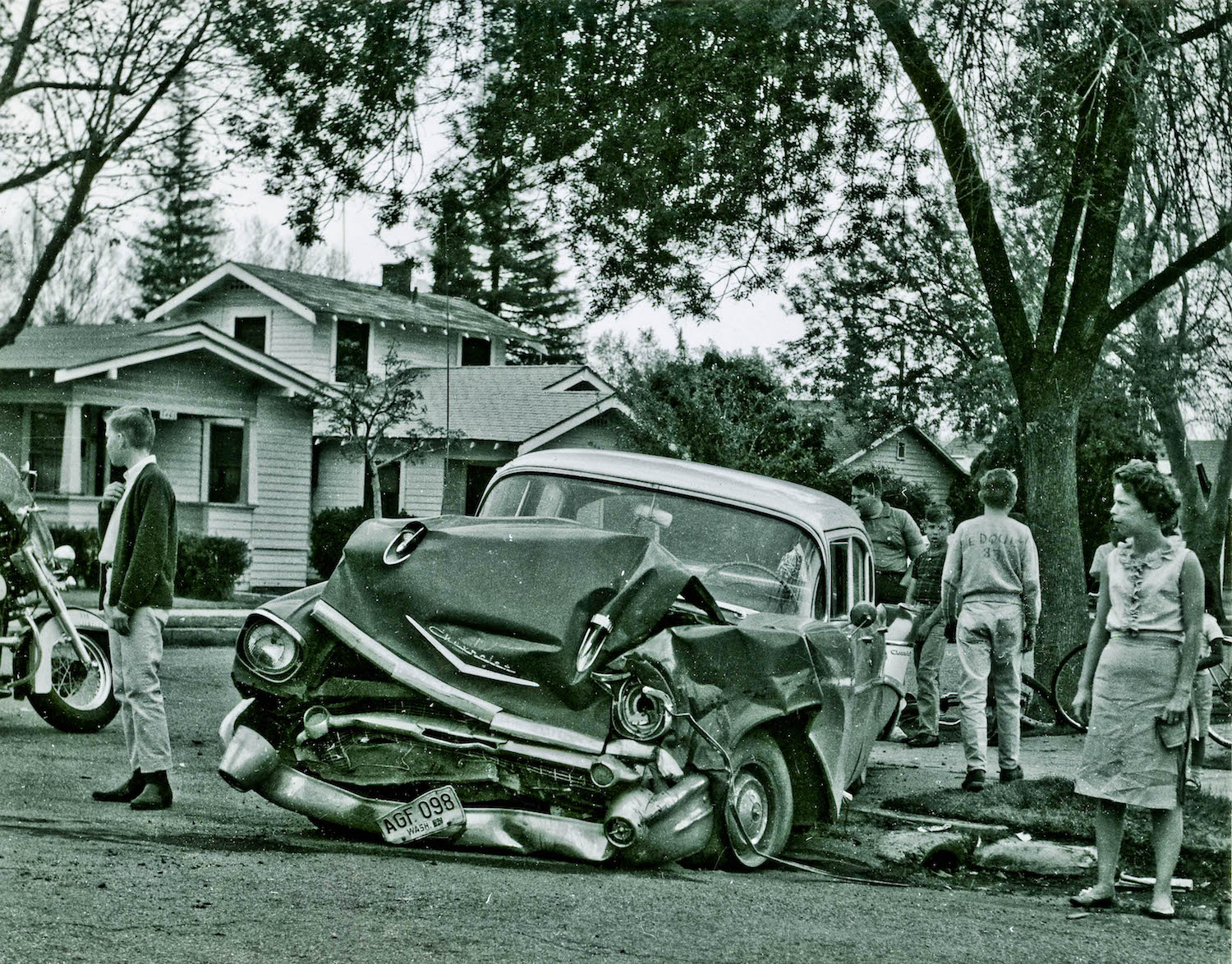 Chevy Chevelle 2016 >> Old Auto Accidents in Fresno (1960 - 1966) - Flashbak