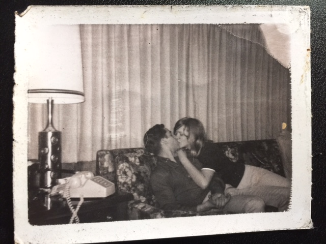 Polaroids Of Snogging At A 1960S Make Out Party - Flashbak-4921