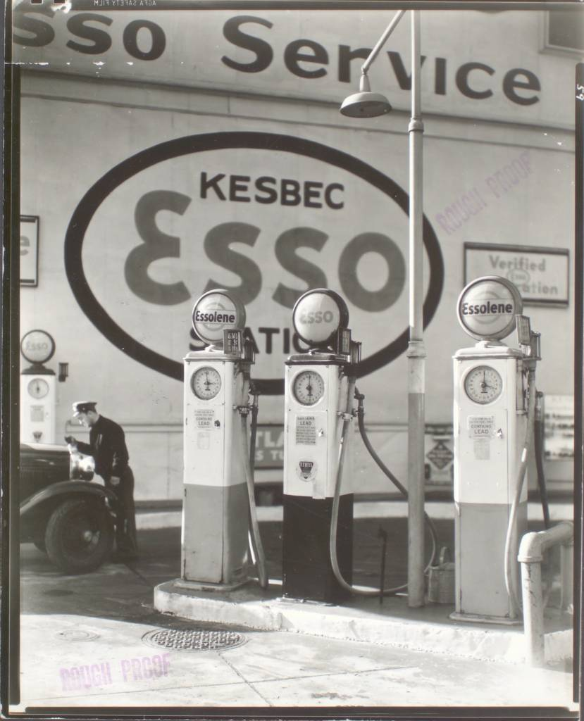 Gasoline Station, Tenth Avenue and 29th Street, Manhattan