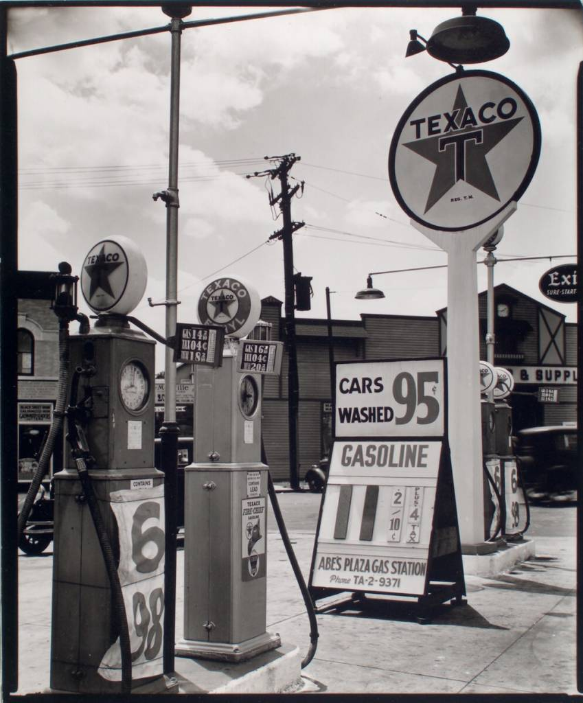 Gasoline station, Tremont Avenue and Dock Street, Bronx