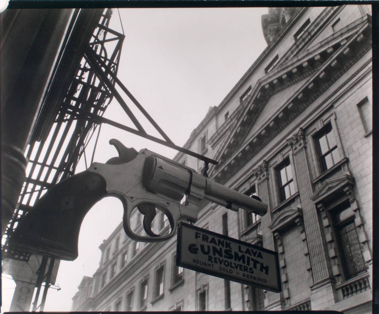 Gunsmith and Police Department, 6 Centre Market Place, Manhattan