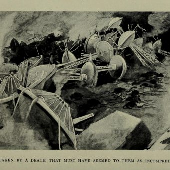 The World's First Illustrations for H.G. Wells' The War of the Worlds (1897)