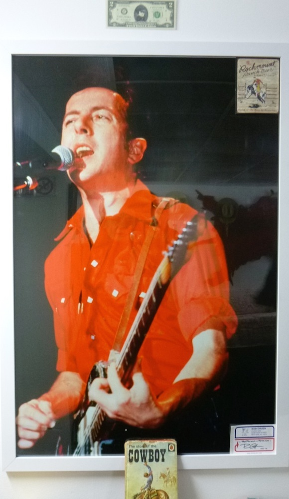 Joe Strummer The Clash clothing