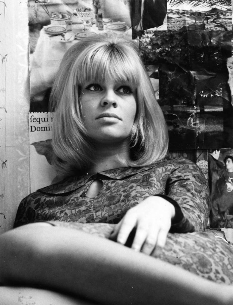 Julie Christie by Paul Schtzer, 1966