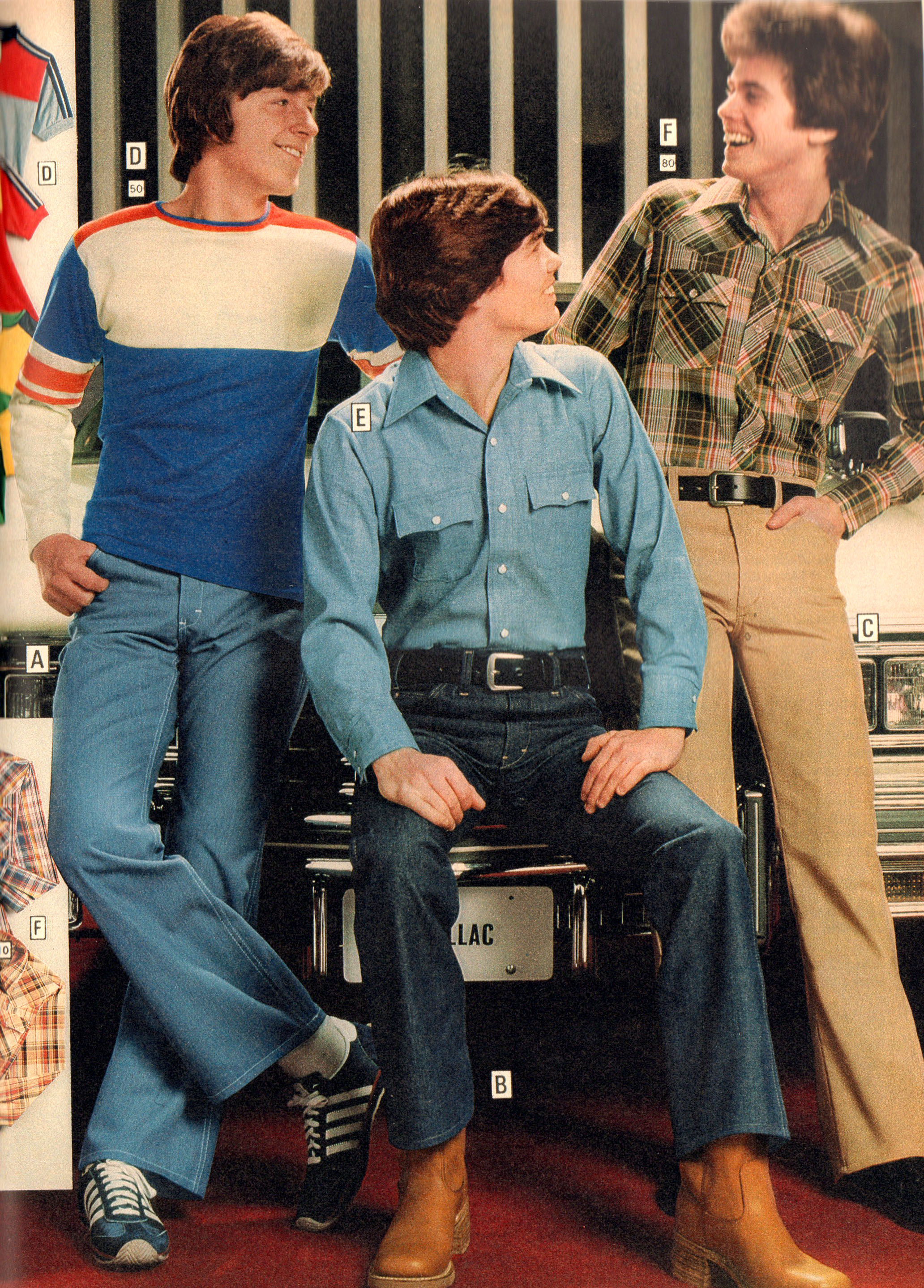 Montgomery Ward 1978 Young Men Fashions