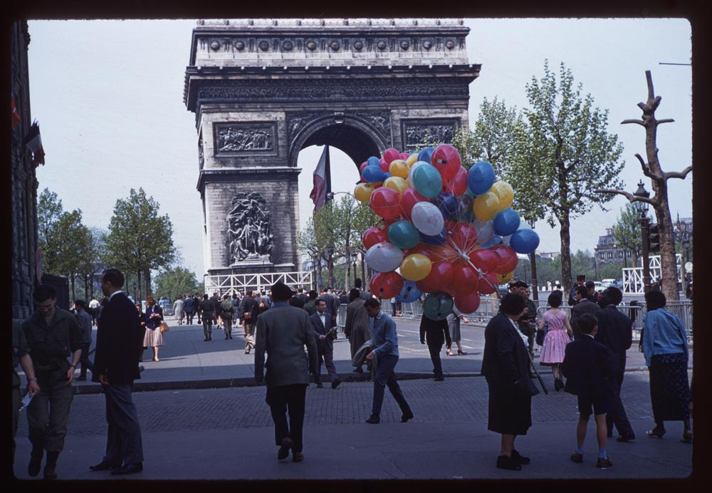 May 8, 1960. Arc de Triomphe